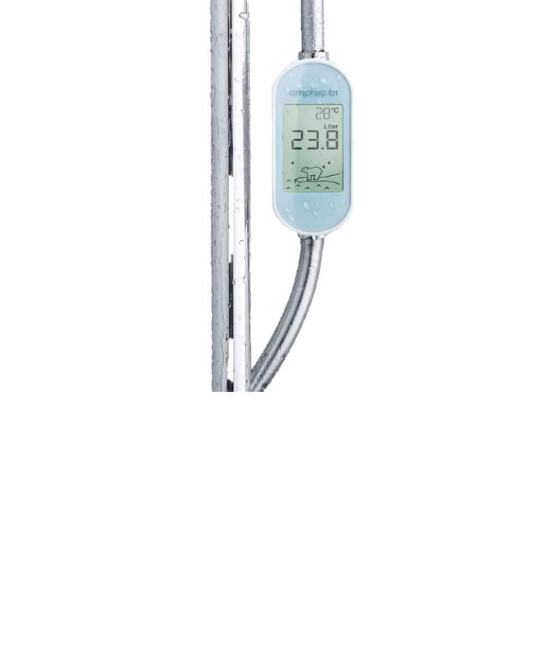 amphiro b1 connect Verbrauchsmesser Energie und Wasser für Duschen