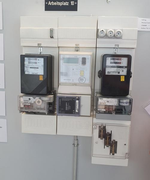 Zählermontage durch Installateure Strom (ZMI)