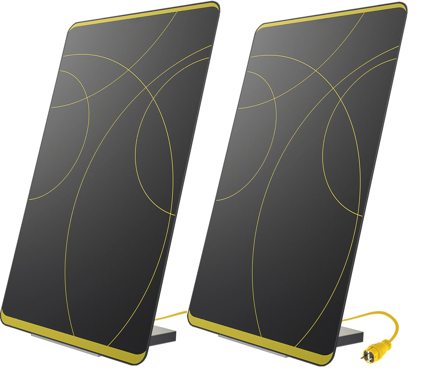 Doppelpack: 2 Plug-In Solarmodule MEIN KRAFTWERK - Design Edition