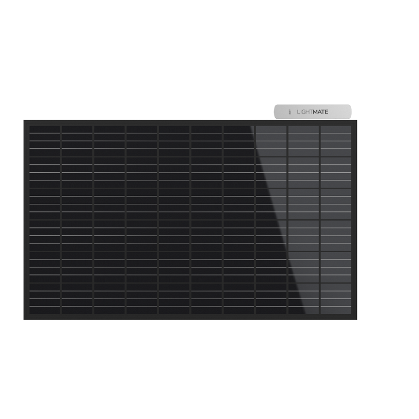 EET Solarmodul LIGHTMATE G mit Aufsteller - Black Edition