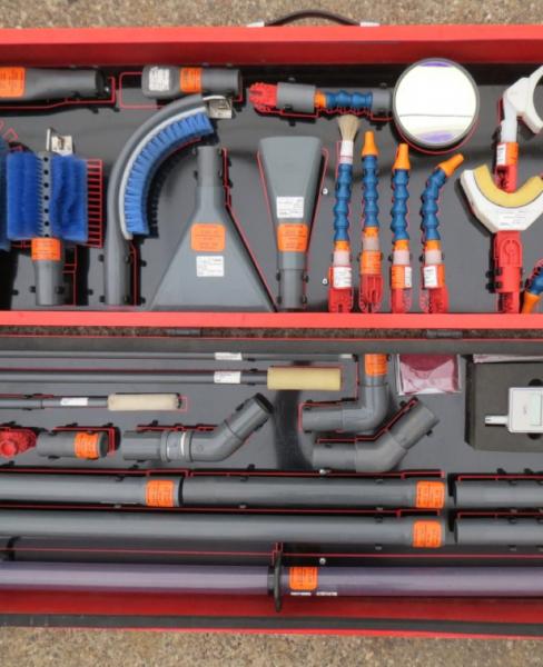 Trockenreinigung Innenraumanlagen bis 36kV