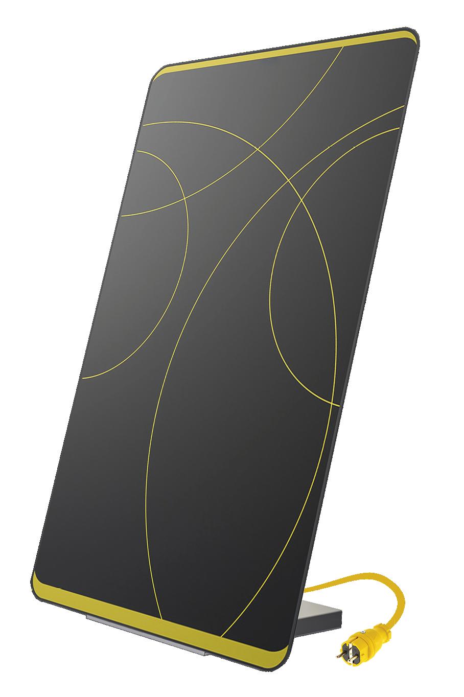 Comfort-Set: Plug-In Solarmodul MEIN KRAFTWERK - Design Edition inkl. Montagekit