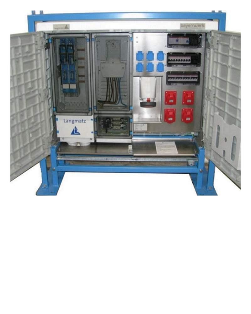 Premium Baustrom Anschlussschrank