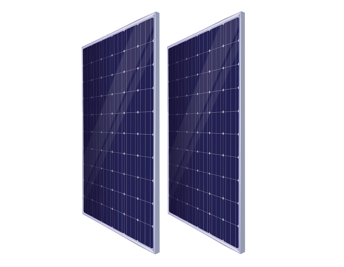Doppelpack: 2 SIZ Solarmodule mit Verbindungskabel