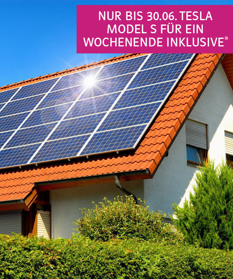 Bayernwerk Solaranlage mit Speicher