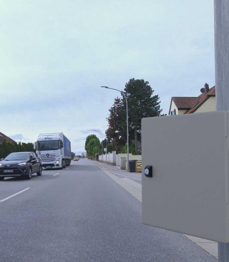 Smarte Verkehrsüberwachung