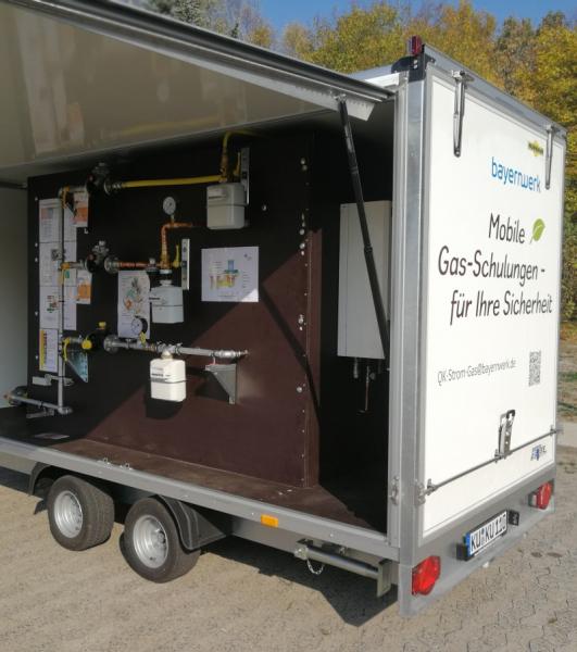 Sicherheitstraining zum Wechseln von Gaszählern mit Funktionsprüfung der Gas-Hausdruckregler