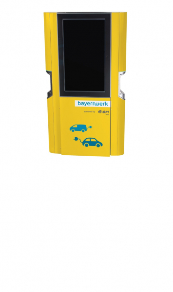 Ladestation E.ON Drive Display