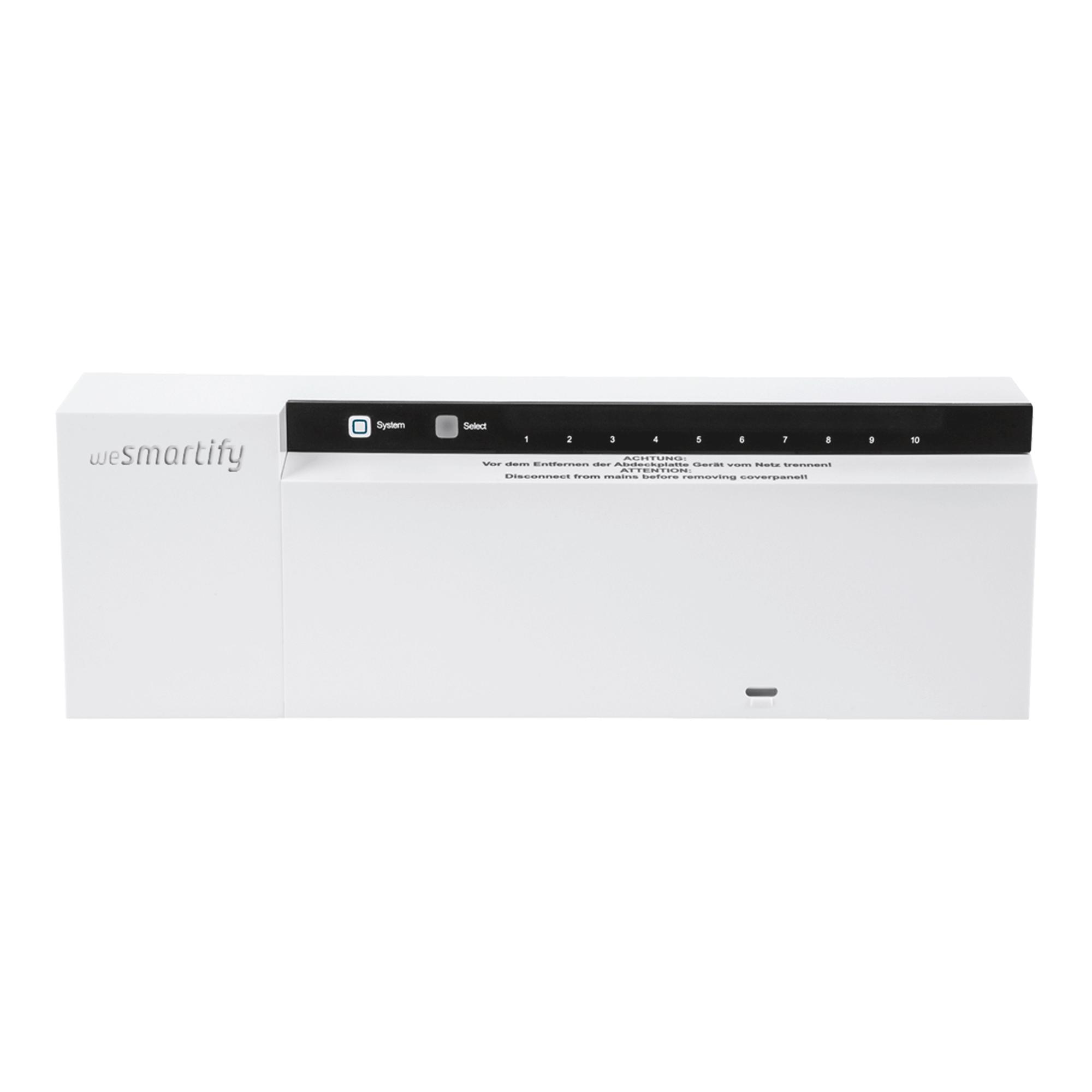 Frontansicht Basisstation Funk (230V)