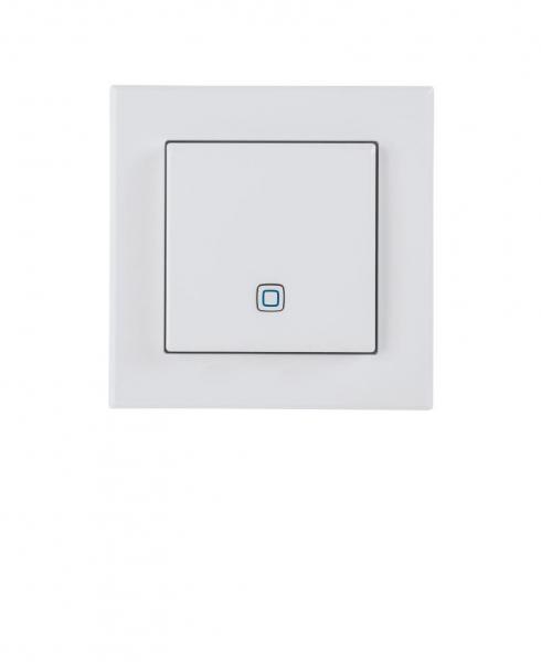 Frontansicht Temperatur- und Luftfeuchtigkeitssensor