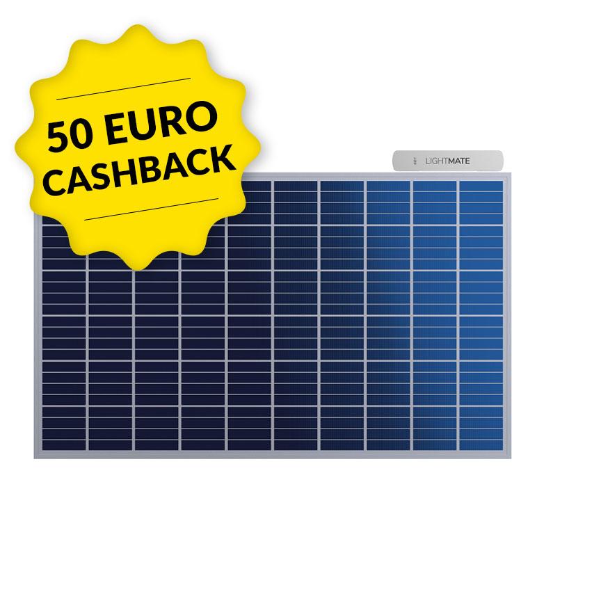 EET Solarmodul LIGHTMATE G mit Aufsteller